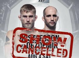 Оздемир снимается с UFC 227 из-за травмы. UFC ищет замену для Густафссона