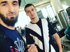 Хасан Магомедшарипов, брат Забита, начал тренироваться в Америке