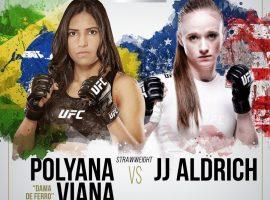 Прогноз на бой Польяна Виана  – Джей Джей Алдрич. Классика жанра: борьба или ударка?