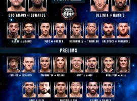 Кард следующего турнира UFC, который пройдет в ночь с субботы на воскресенье, начало в 1-00 по Москве
