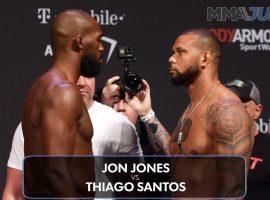 Битва взглядов UFC 239. Видео