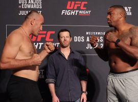 Битва взглядов UFC on ESPN 4