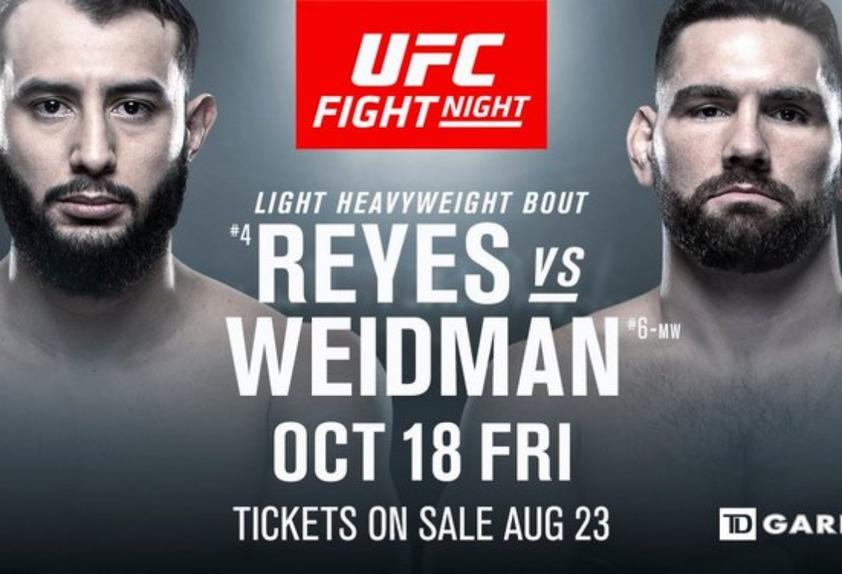 UFC Fight Night: Boston