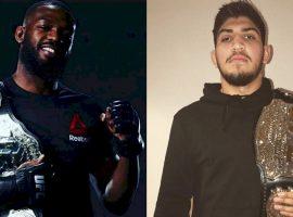 Диллон Дэнис продолжает «словесно атаковать» чемпиона UFC Джона Джонса