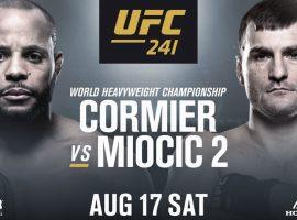 Результаты турнира UFC 241: Кормье - Миочич 2