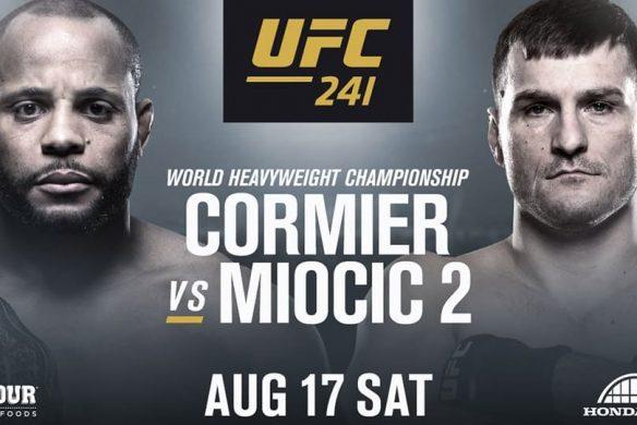 Результаты турнира UFC 241: Кормье — Миочич 2