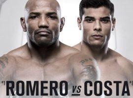 Прогноз на бой Йоэль Ромеро - Пауло Коста UFC 241 18 августа