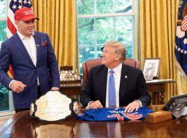 Дональд Трамп поздравил бойца UFC с победой