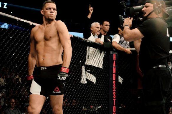 Нейт Диаз объяснил, почему вызвал на бой Хорхе Масвидаля после победы на UFC 241