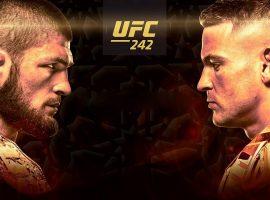 Видео боя Хабиб Нурмагомедов - Дастин Порье UFC 242