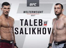 Видео боя Нордин Талеб – Муслим Салихов UFC 242