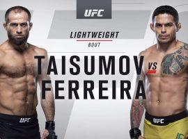 Видео боя Карлос Диего Ферейра – Майрбек Тайсумов UFC 242