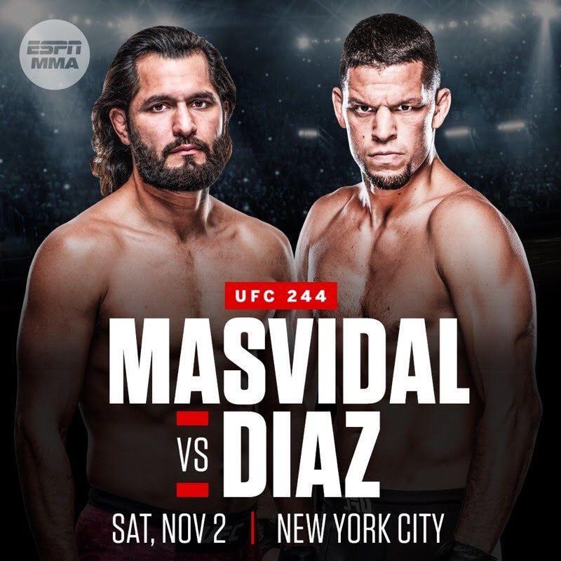 UFC 244: New York