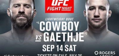Видео боя Дональд Серроне - Джастин Гетжи UFC Fight Night 158
