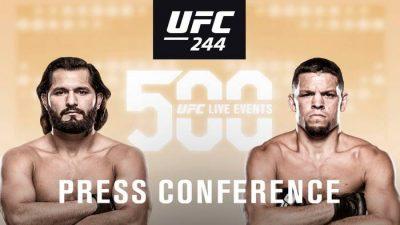 Видео UFC 244: Пресс-конференция