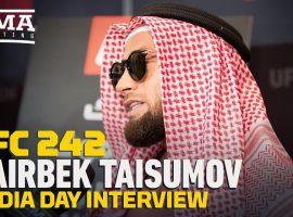 Интервью Майрбека Тайсумова перед UFC 242: Я не могу следовать своим мечтам из-за какой-то бумаги
