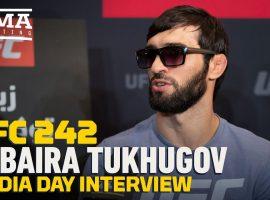 Интервью Зубайры Тухугова перед UFC 242: Я не обращаю внимание на слова Конора МакГрегора в мой адрес, потому что он 'болтун'