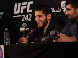 Слова Ислама Махачева на пресс конференции после турнира UFC 242