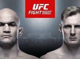 Официально: Александр Волков встретится с Джуниором Дос Сантосом 9 ноября на турнире UFC Moscow
