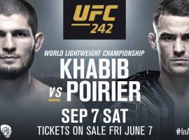 Результаты турнира UFC 242: Хабиб - Порье