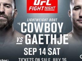 Результаты турнира UFC Fight Night 158: Серроне – Гетжи
