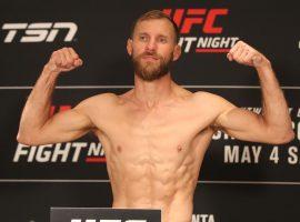 Результаты взвешивания турнира UFC Fight Night 158: Серроне – Гетжи