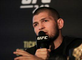 Сильные слова Хабиба Нурмагомедова на пресс конференции после турнира UFC 242