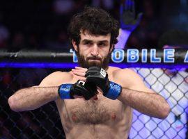 Забит Магомедшарипов снят с турнира UFC Boston, возможно выступит в Москве 9 ноября