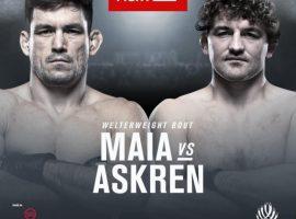 Полный кард турнира UFC Fight Night 162: Майа - Аскрен