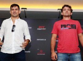 Битва взглядов Демиан Майя - Бен Аскрен UFC Fight Night 162