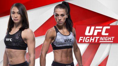 Видео боя Йоанна Енджейчик - Мишель Уотерсон UFC Fight Night 161