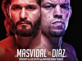Полный кард UFC 244: Диаз - Масвидаль