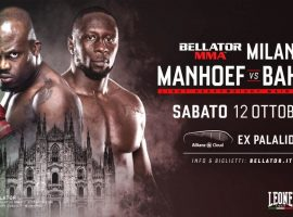 Мелвин Манхуф – Яник Бахати: прогноз и ставка на бой 11 октября 2019 Bellator 230