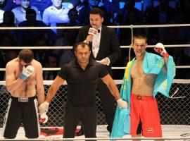 Профессиональное ММА легализовали в Казахстане