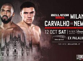Рафаэль Карвальо – Вадим Немков: прогноз и ставка на бой 11 октября 2019 Bellator 230