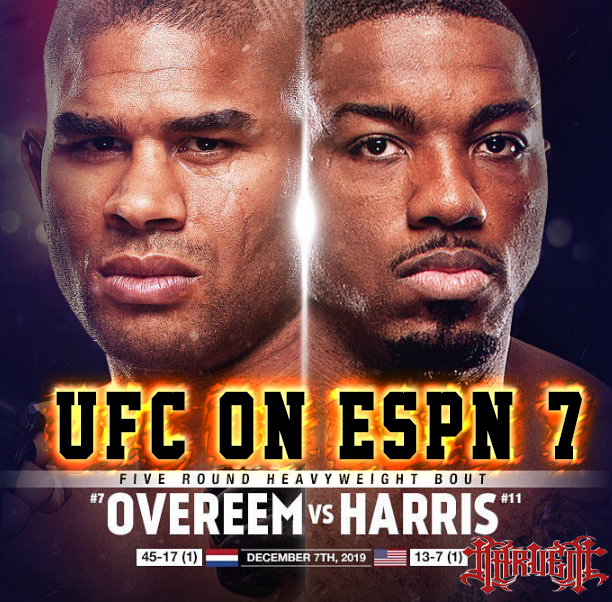 UFC ON ESPN 7: Washington