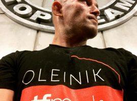 Алексей Олейник: Мой соперник – ударник, он недавно дрался с россиянином, входит в топ-15