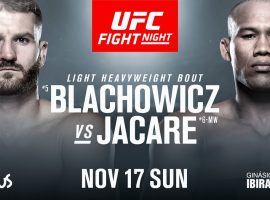 Прогноз и ставка на бой Ян Блахович - Роналдо Соуза 17 ноября на UFC Fight Night 164