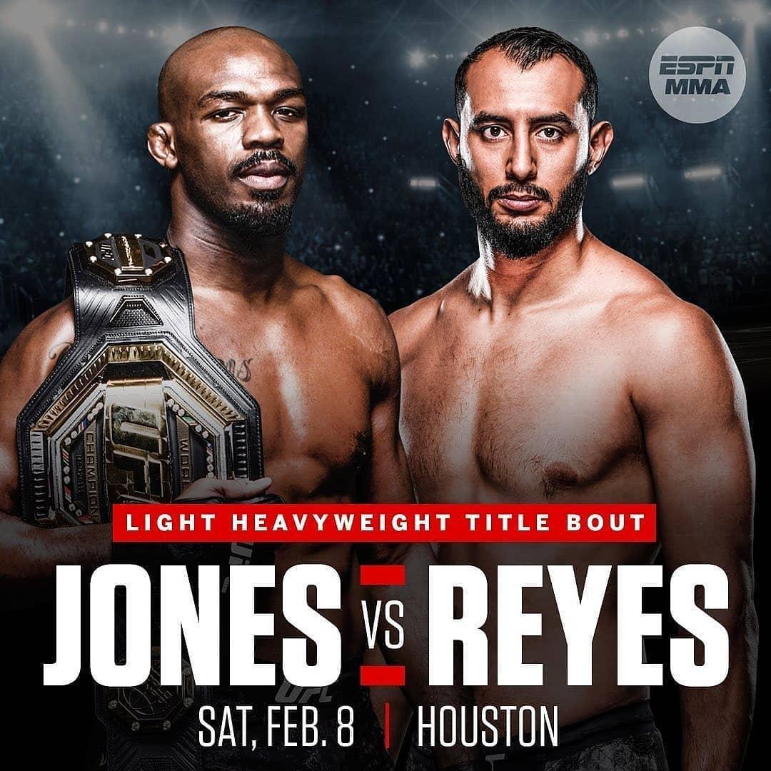 UFC 247: Хьюстон