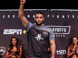 Али Исаев: Я буду ещё один год драться в PFL