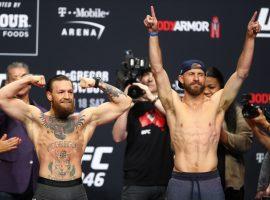Результаты турнира UFC 246: Макгрегор - Серроне