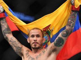Марлон Вера сразится с Эдди Вайнлендом на UFC on ESPN 8 в Колумбусе