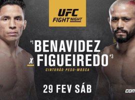 Прогноз и ставка на бой Джозеф Бенавидез - Дейвесон Фигейредо 1 марта 2020 UFC Fight Night 169