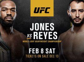 Прогноз и ставка на бой Джон Джонс - Доминик Рейес 9 февраля 2020 года на турнире UFC 247
