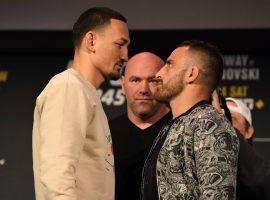 Реванш Волкановски - Холлоуэй может возглавить турнир UFC 251 в Австралии