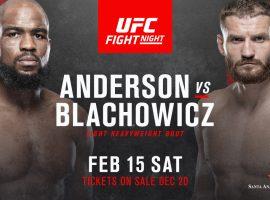 Результаты турнира UFC Fight Night 167: Андерсон – Блахович 2