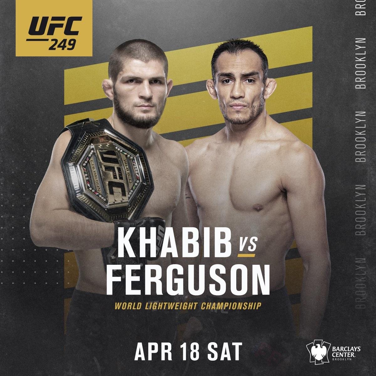 UFC 249: Бруклин
