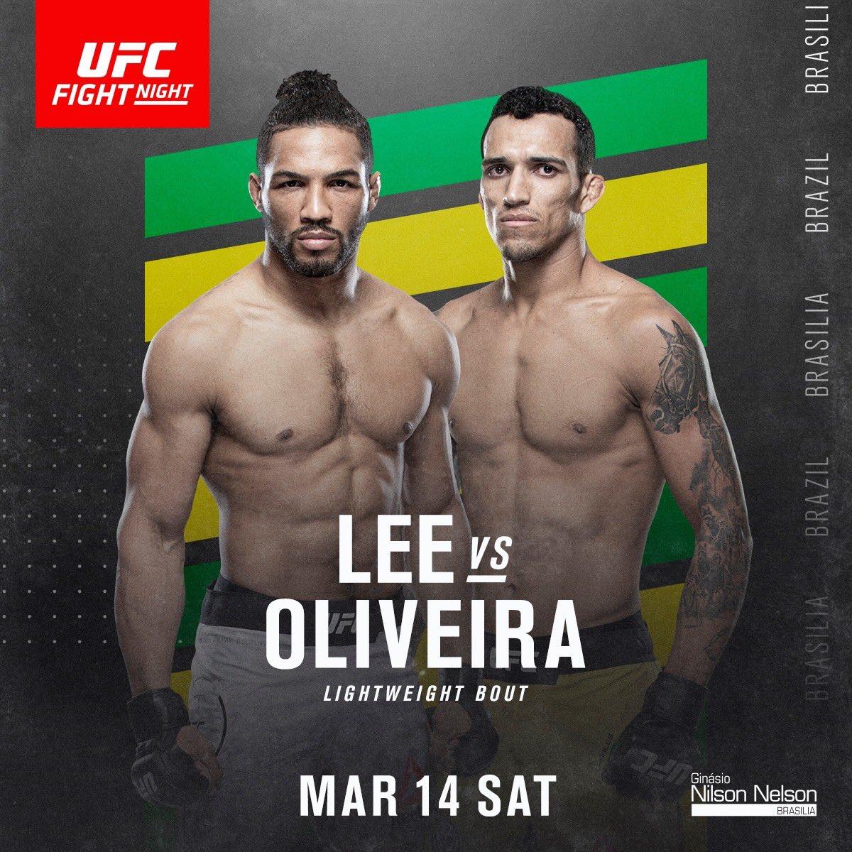 UFC Fight Night 170: Бразилиа
