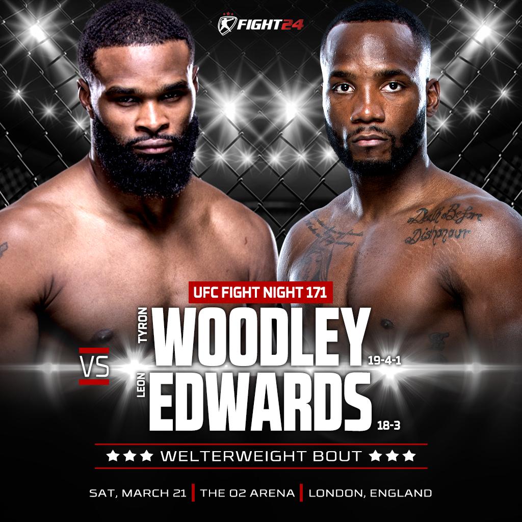 UFC Fight Night 171: Лондон