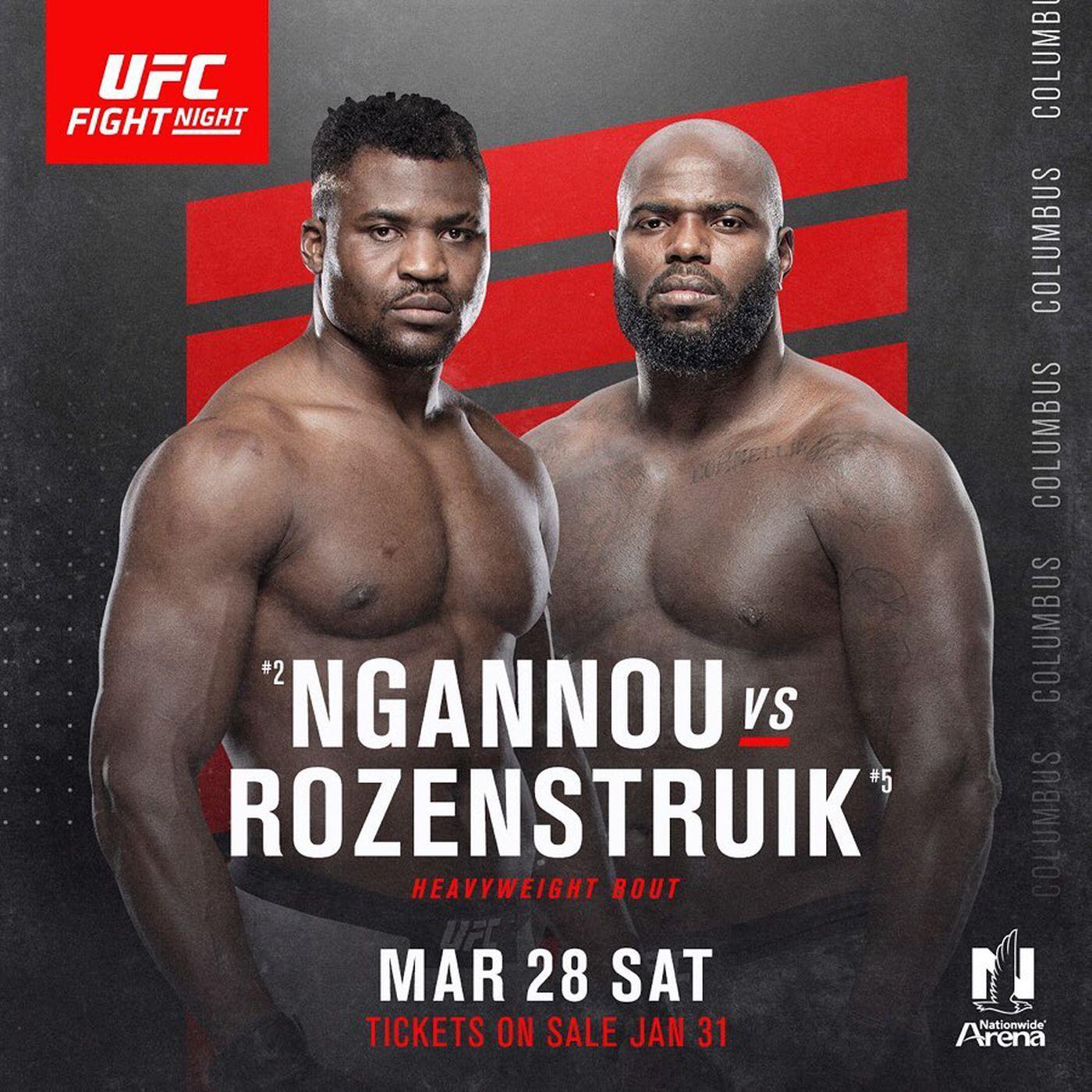 UFC on ESPN 8: Колумбус